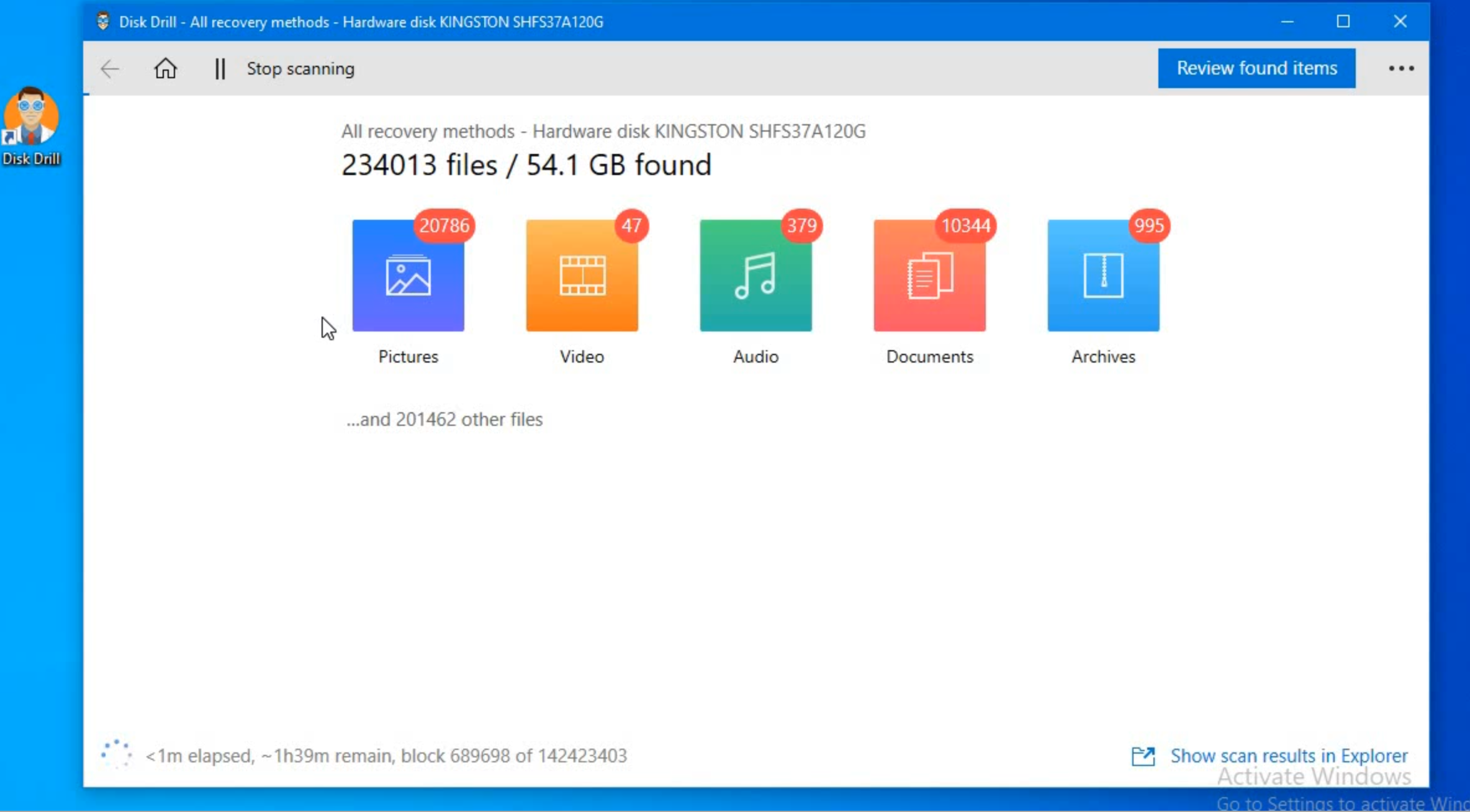 Download data recovery tool