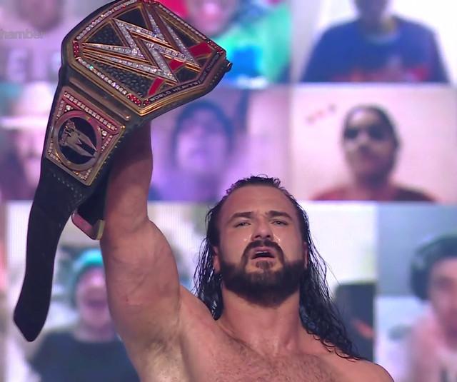 Drew McIntyre gana la Elimination Chamber AJ Styles