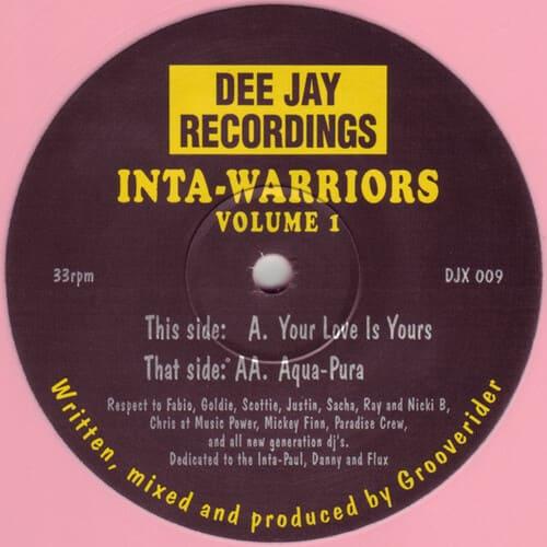 Download Inta-Warriors - Your Love Is Yours / Aqua-Pura mp3