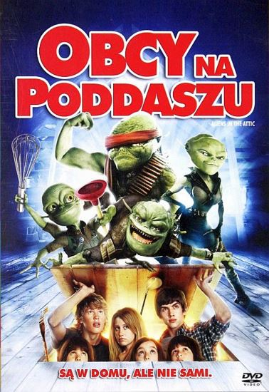 Obcy na poddaszu / Aliens in the Attic (2009) PL.AC3.DVDRip.XviD-GR4PE | Lektor PL