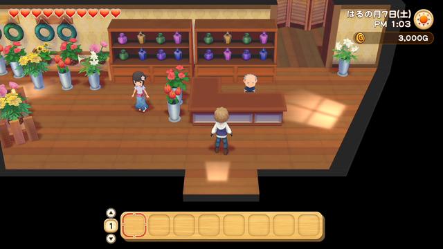 「牧場物語」系列首次在Nintendo SwitchTM平台推出全新製作的作品!  『牧場物語 橄欖鎮與希望的大地』 於今日2月25日(四)發售 050