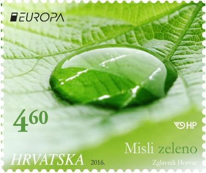 2016. year EUROPA-MISLI-ZELENO-HRVATSKI-MOTIV