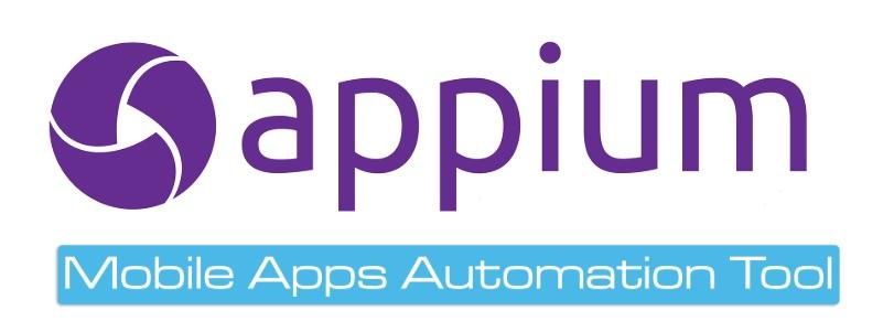 Appium logotipo oficial, visto en Ciberninjas