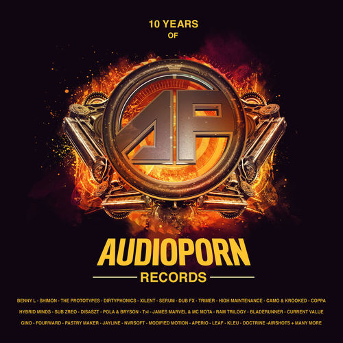 VA - 10 Years Of AudioPorn Records LP 2018