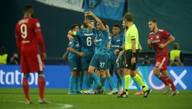 ზენიტი 2-0 ლიონი | ჩემპიონთა ლიგა | ჯგუფური ეტაპი | მიმოხილვა