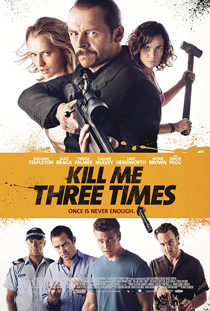Kill Me Three Times 2014 Hindi ORG Dual Audio 720p BluRay ESubs 800MB | 350MB Download