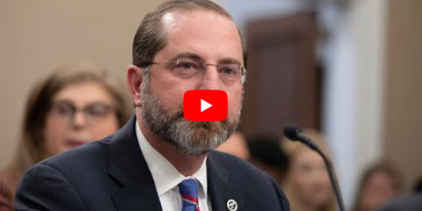 HHS Secretary Alex Azar testifies before lawmakers on the coronavirus…