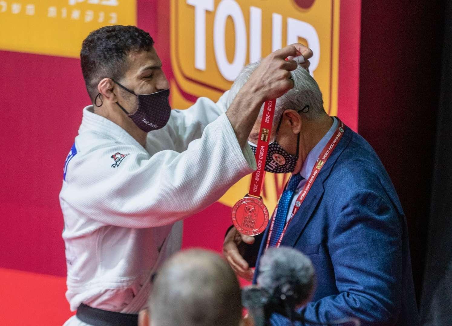 Saeid Mollaei israel judo irã iran medal medalha grand slam tel aviv