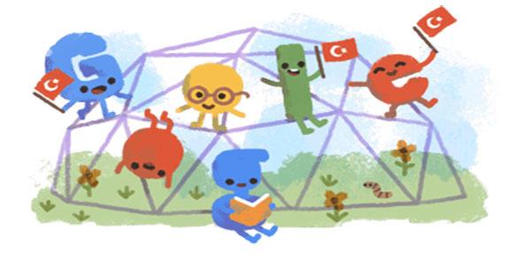 Google 23 Nisan Doodle'ı