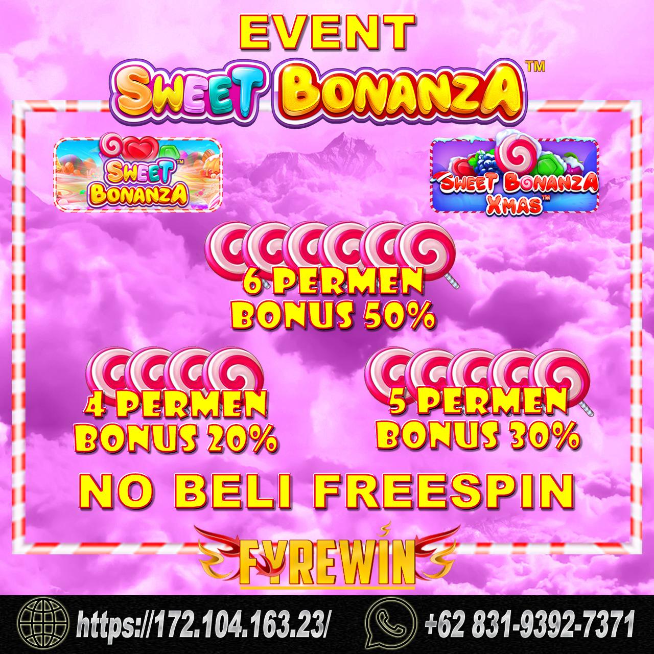 EVENT SWEET BONANZA