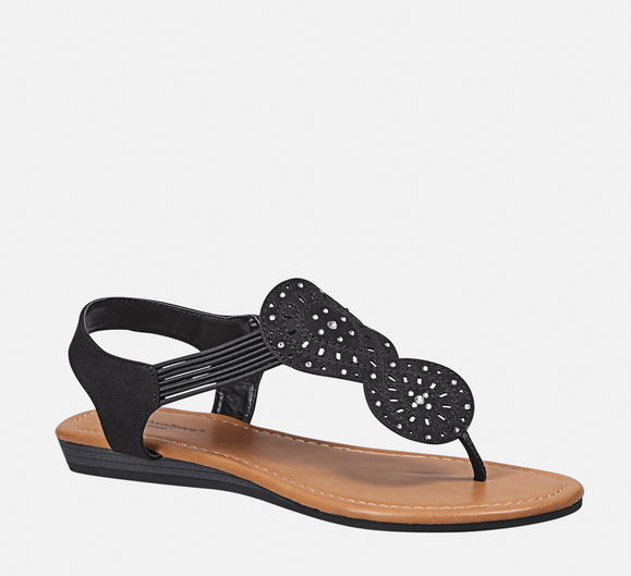 The Vanessa Stretch Thong Sandal travel product recommended by Meredith A. Kish on Lifney.