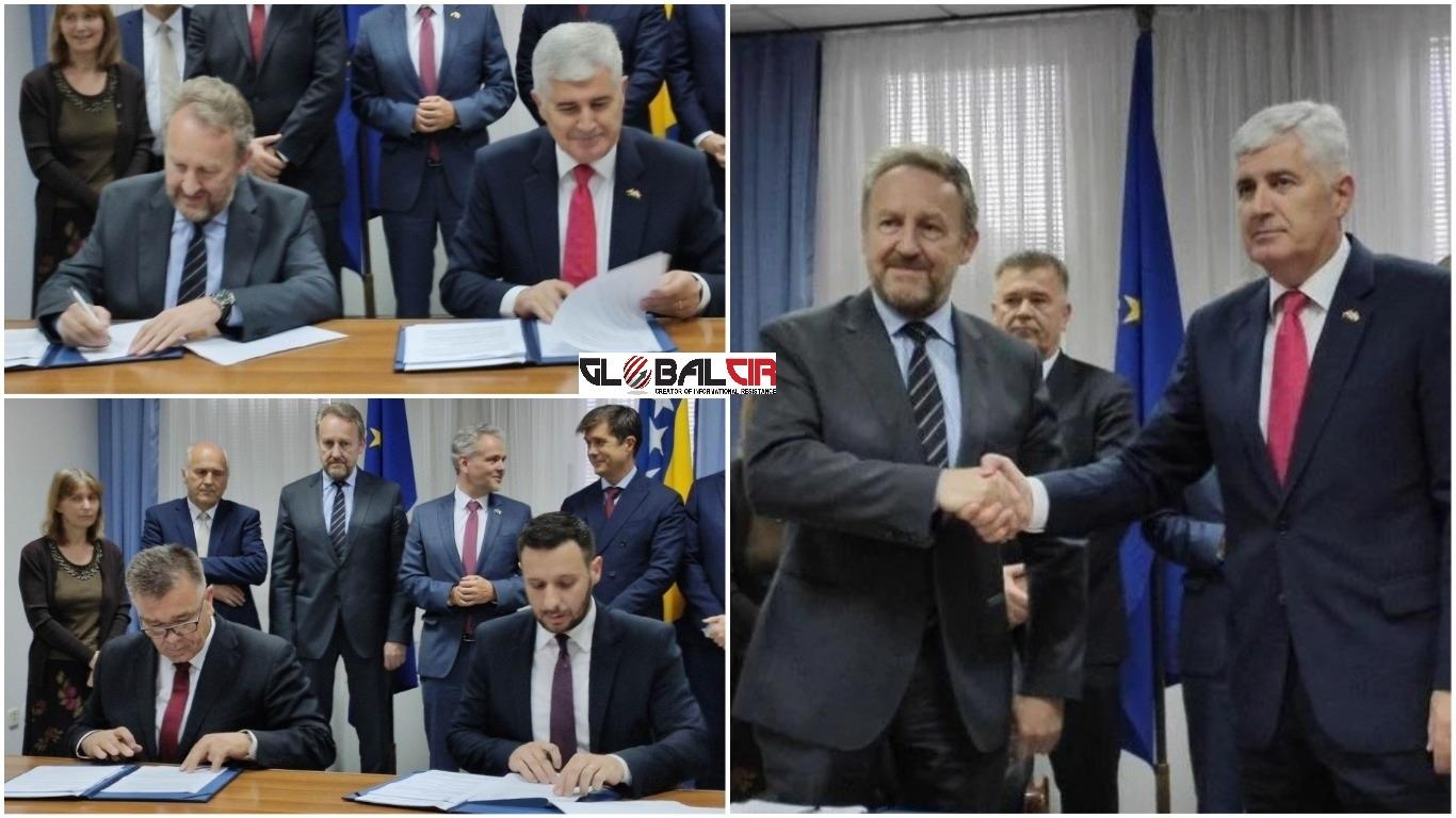 POBJEDNICI SU GRAĐANI MOSTARA! Izetbegović i Čović potpisali sporazum o  Mostaru i Izbornom zakonu - GlobalCir