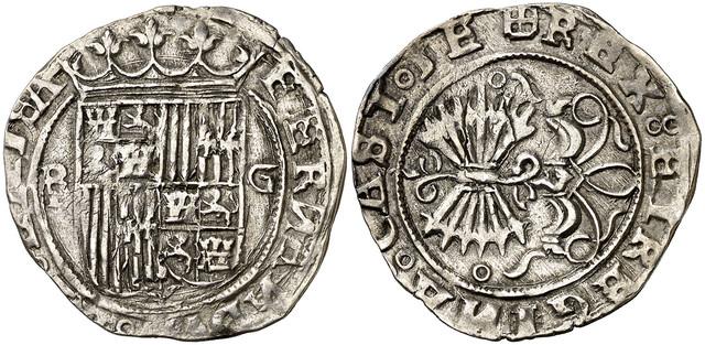 Duda moneda reyes católicos pre pragmática o post. 0523