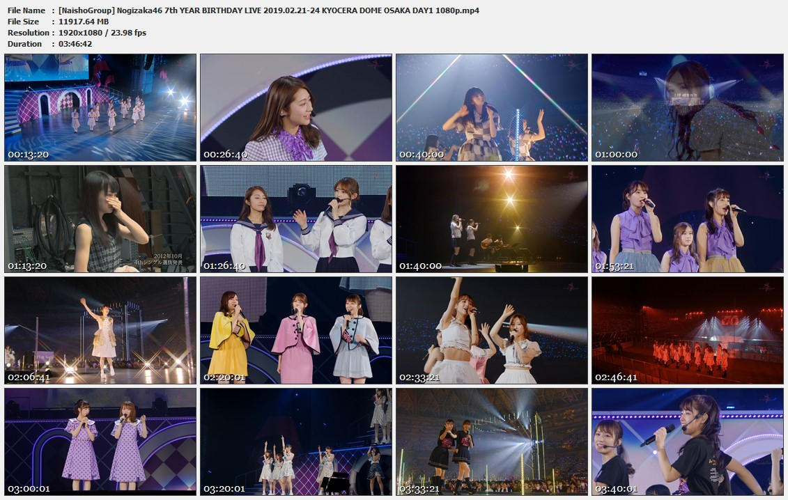 Naisho-Group-Nogizaka46-7th-YEAR-BIRTHDAY-LIVE-2019-02-21-24-KYOCERA-DOME-OSAKA-DAY1-1080p-mp4