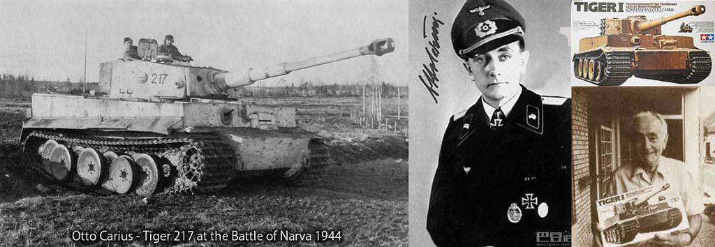 Otto Carius, WW2 hero