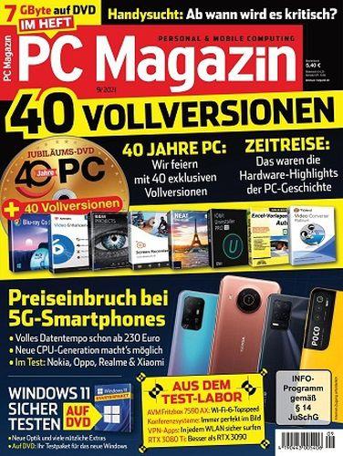 Cover: Pc Magazin September No 09 2021