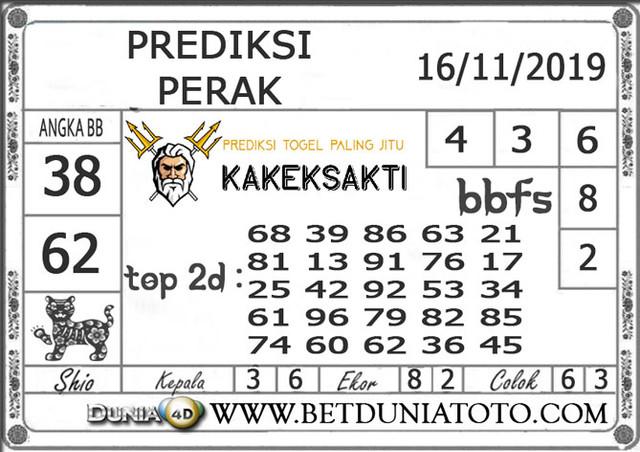 """Prediksi Togel """"PERAK"""" DUNIA4D 16 NOVEMBER 2019"""