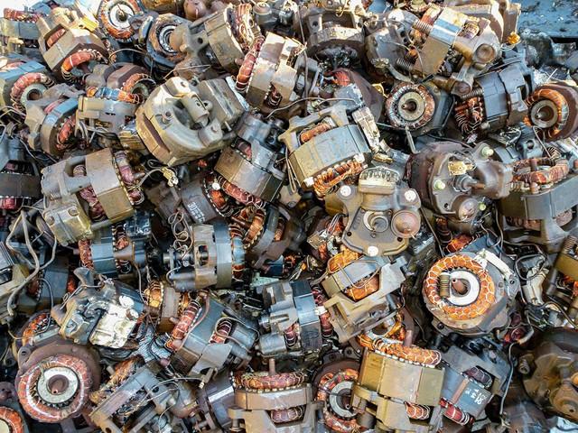 покупка лома двигателей с цветным металлом - цены