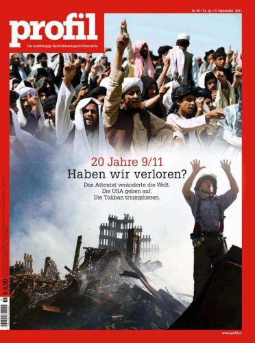 Cover: Profil Nachrichtenmagazin No 36 vom 05  September 2021