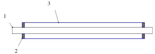Модель вакуумного коллектора