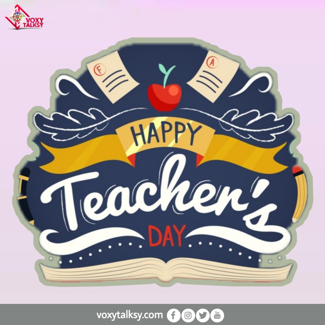 National Teachers' Day 2020 | VoxyTalksy