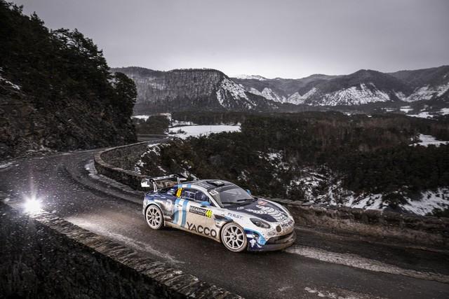 Alpine réussit son retour au Monte-Carlo 2021-Rallye-de-Monte-Carlo-14