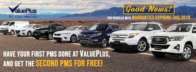 Best Car Shop Promos: Value Plus Promo