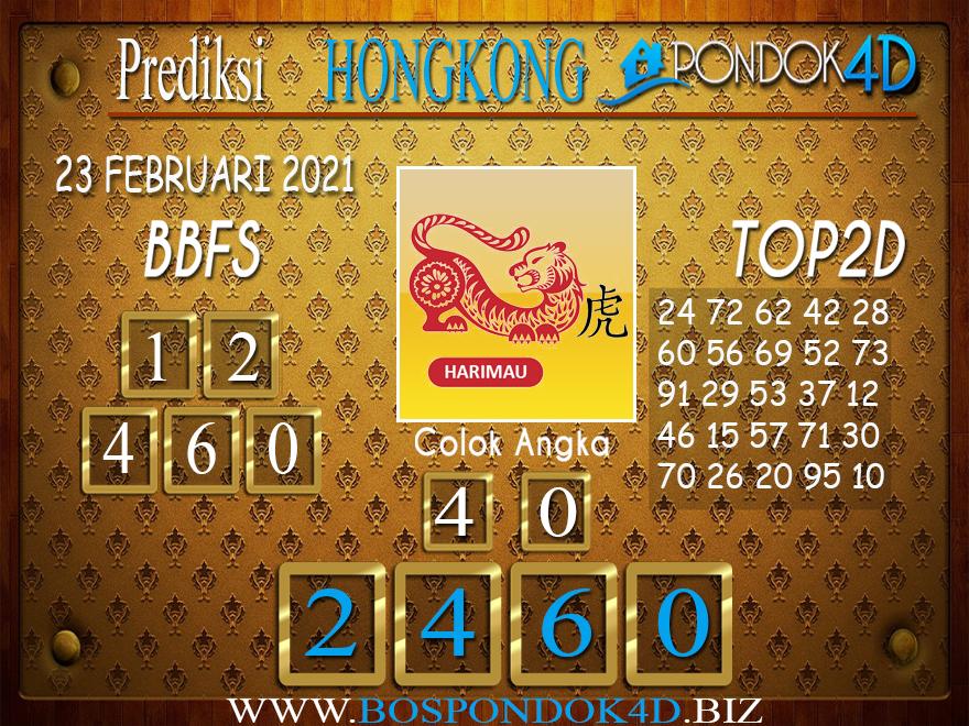 Prediksi Togel HONGKONG PONDOK4D 23 FEBRUARI 2021