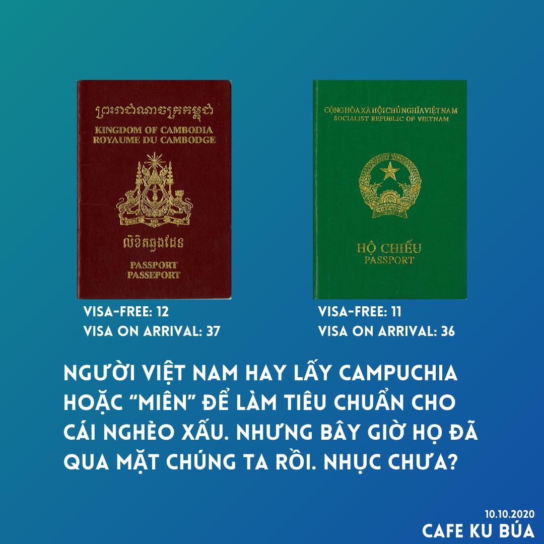 HỘ CHIẾU VIỆT NAM VÀ CAMBODIA