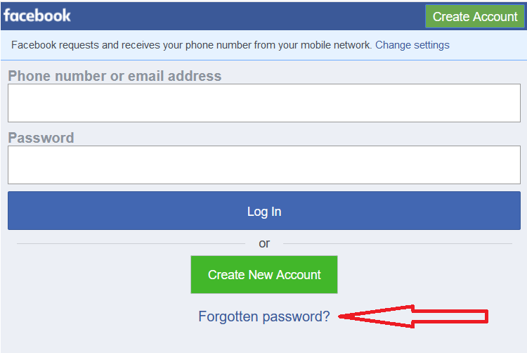 How to Recover Facebook Password Easily - New Offer BD