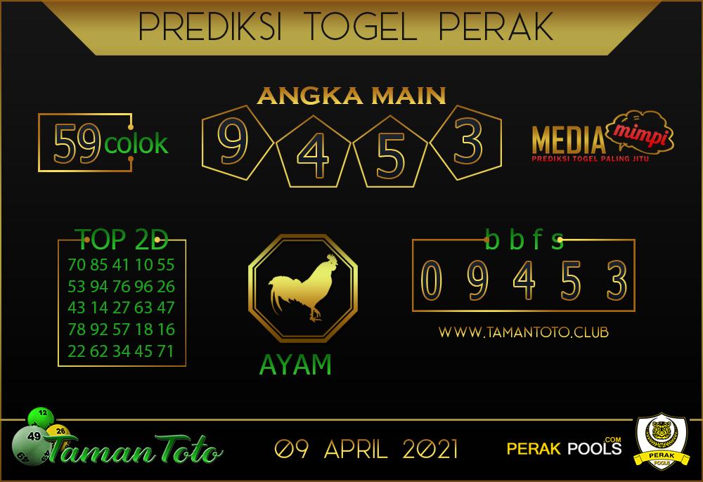 Prediksi Togel PERAK TAMAN TOTO 0 9 APRIL 2021