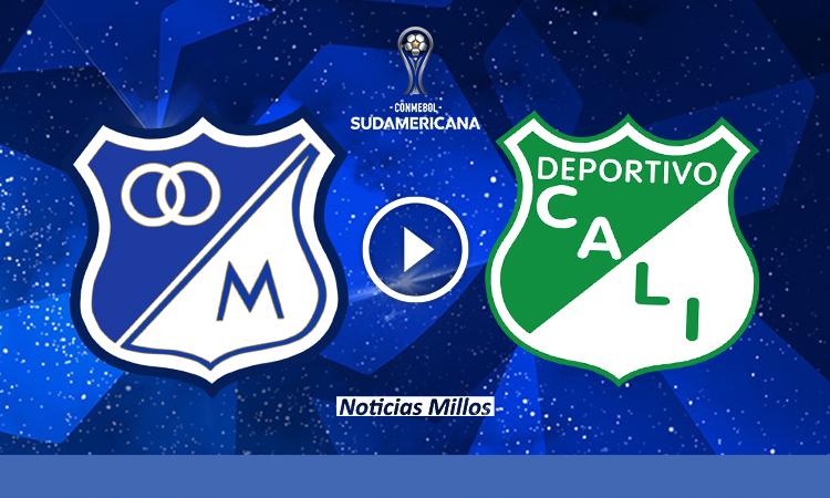 EN VIVO Millonarios vs Deportivo Cali COPA SUDAMERICANA DIRECTV Sports