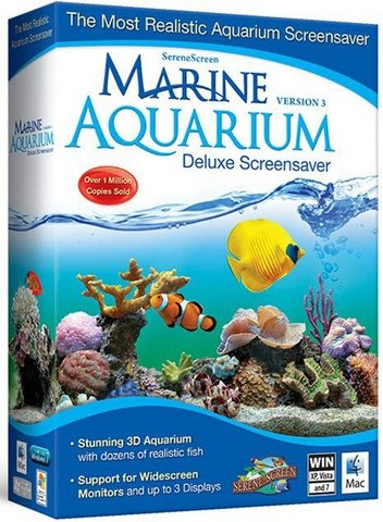 SereneScreen Marine Aquarium 3.3.6369 RePack (& Portable) by elchupacabra [Ru/En]