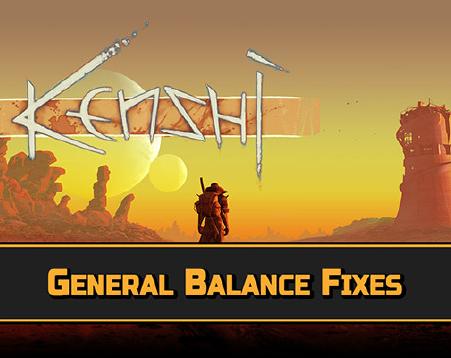 General Balance Fixes / Исправление основного баланса игры