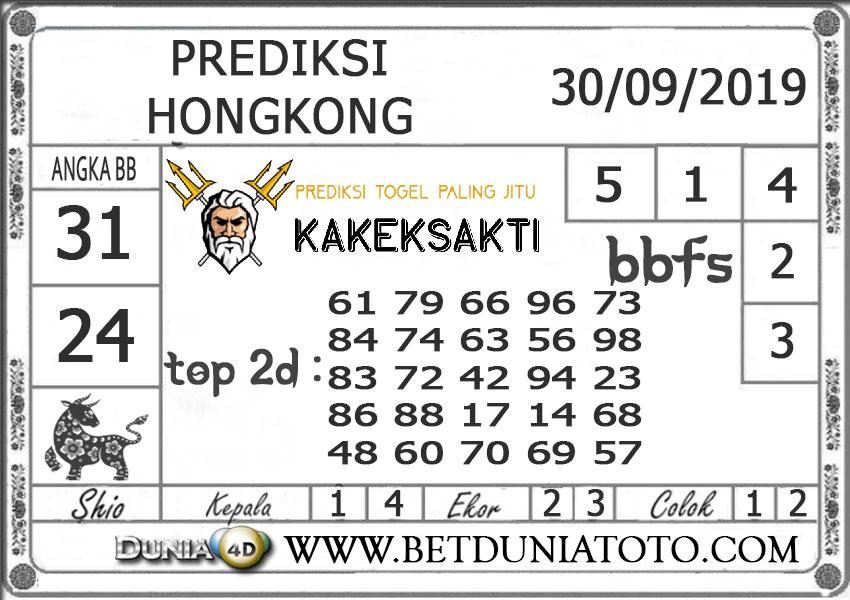 "Prediksi Togel ""HONGKONG"" DUNIA4D 30 SEPTEMBER 2019"