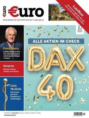 Cover: Euro Finanz-Magazin No 10 Oktober 2021