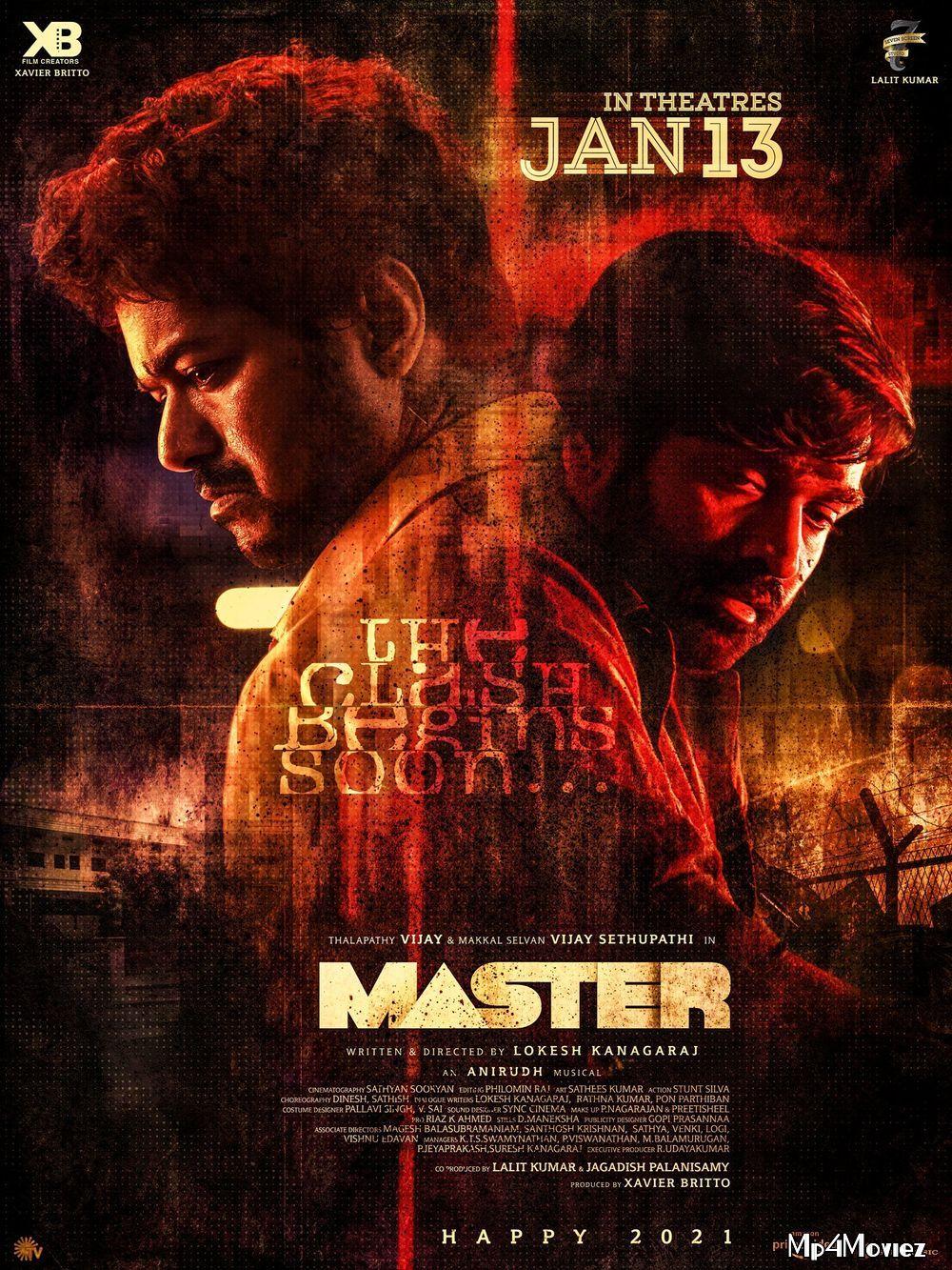 Master (2021) Hindi Dubbed Movie HDRip 720p AAC