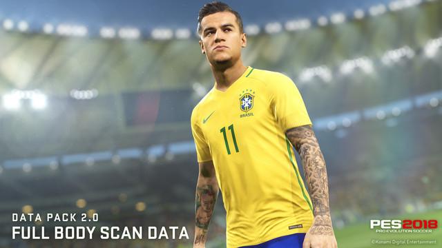 PES2018 DP2 Face Scan Data Coutinho