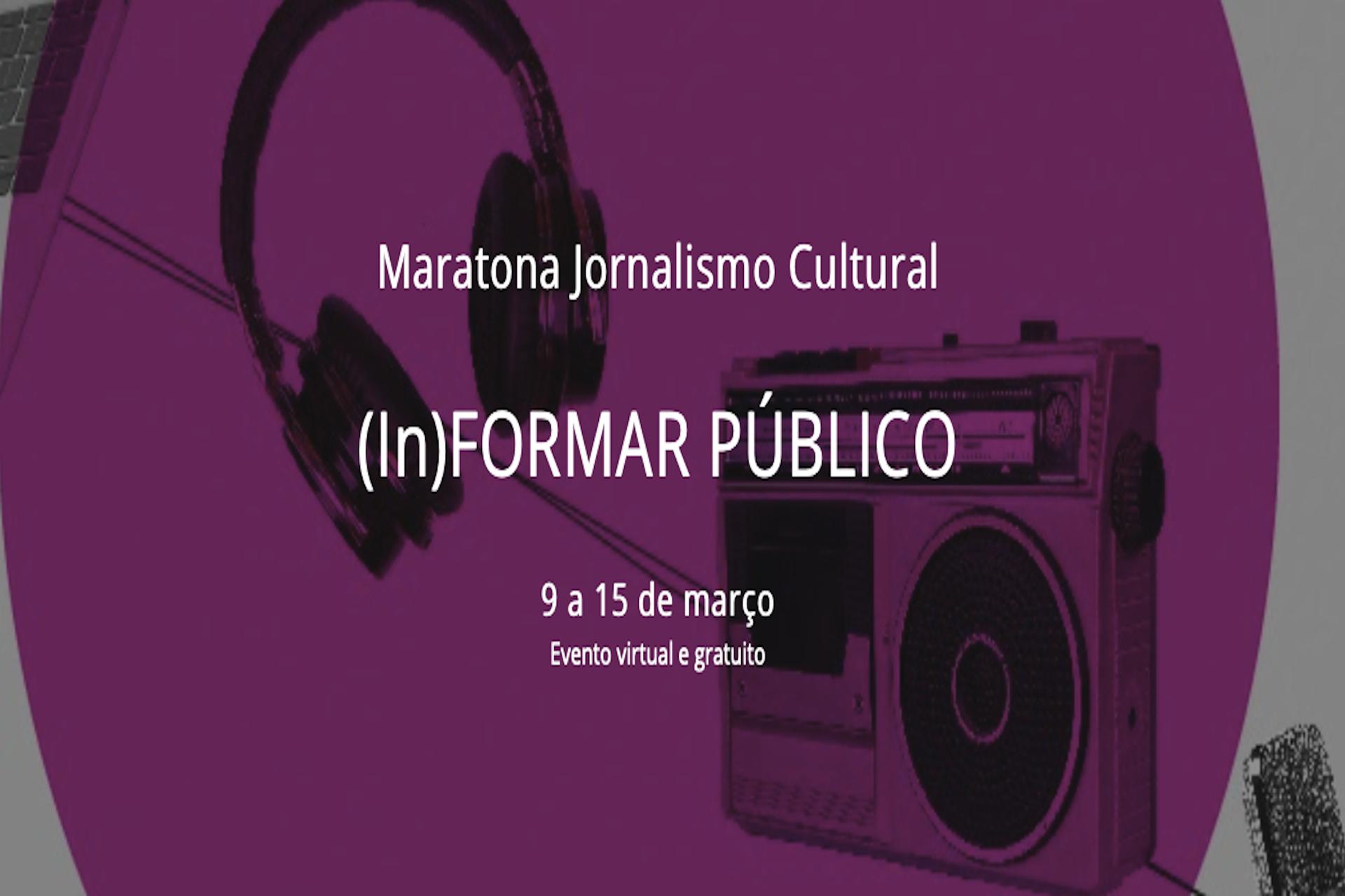 Mestranda do PPGCOM realiza evento sobre jornalismo cultural pela Lei Aldir Blanc; Jotabê Medeiros está entre os convidados