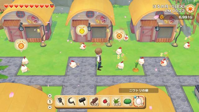 「牧場物語」系列首次在Nintendo Switch™平台推出全新製作的作品! 『牧場物語 橄欖鎮與希望的大地』 決定於2021年2月25日(四)發售! 013