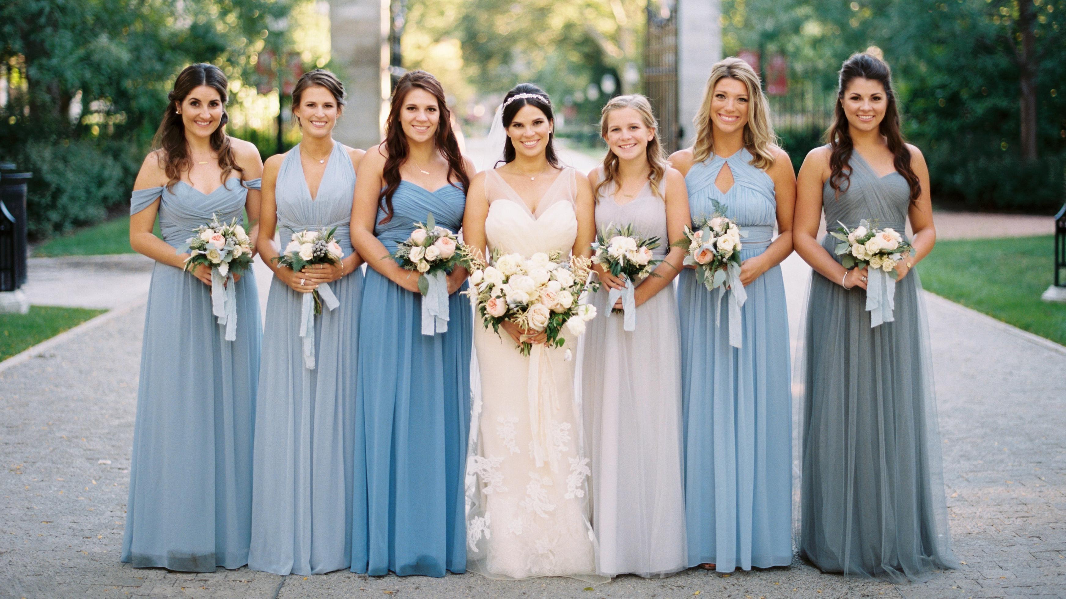 Burgundy Bridesmaid Dresses Flavor up Your Wedding Gathering