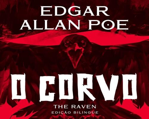 """@FaroEditorial lança edição especial bilíngue de """"O Corvo"""" de Edgar Allan Poe"""