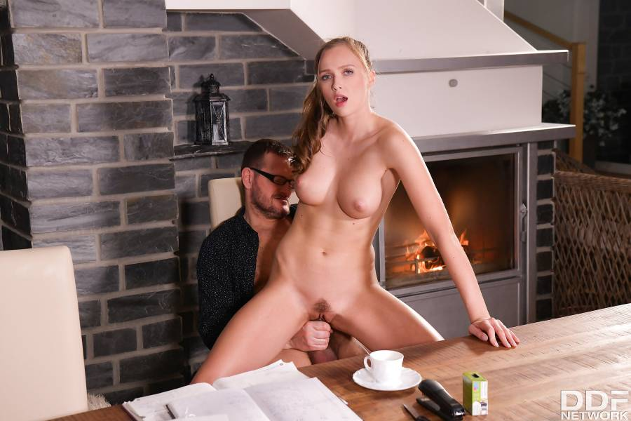 Stacy Cruz – Hot Secretary Stacy Cruz Breaks The Tension By Stripping For Boss During Conference Call – Hands On Hardcore – DDF Network