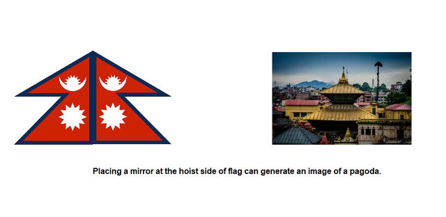 local people believe about nepali flag