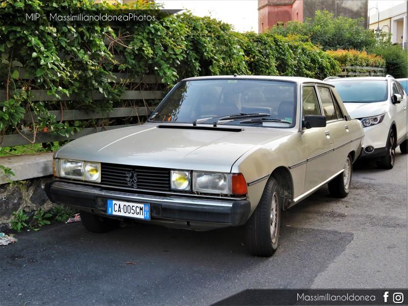 avvistamenti auto storiche - Pagina 11 Peugeot-604-STI-V6-Automatica-2-7-145cv-CA005-GM-159-176-6-9-2017-2