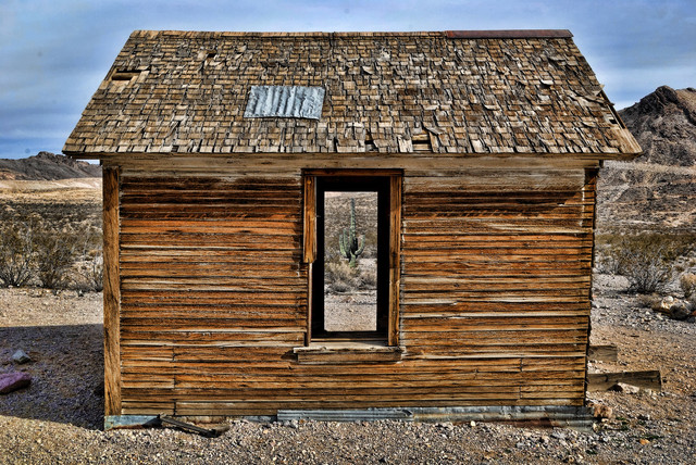 67 This Old Wooden Shack with cactus spicify