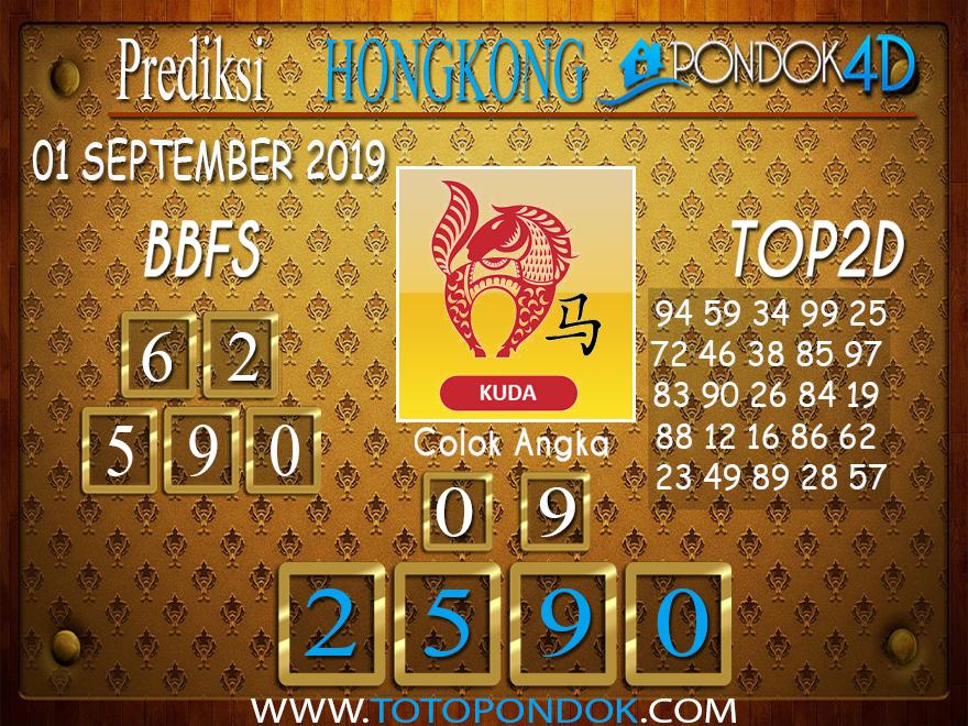 Prediksi Togel HONGKONG PONDOK4D 01 SEPTEMBER 2019