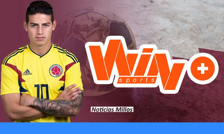 ¿Win Sports transmitirá el fútbol de Qatar para ver a James Rodríguez?