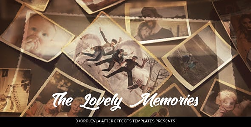 Lovely Memories 21257090 - Project for After Effects (Videohive)
