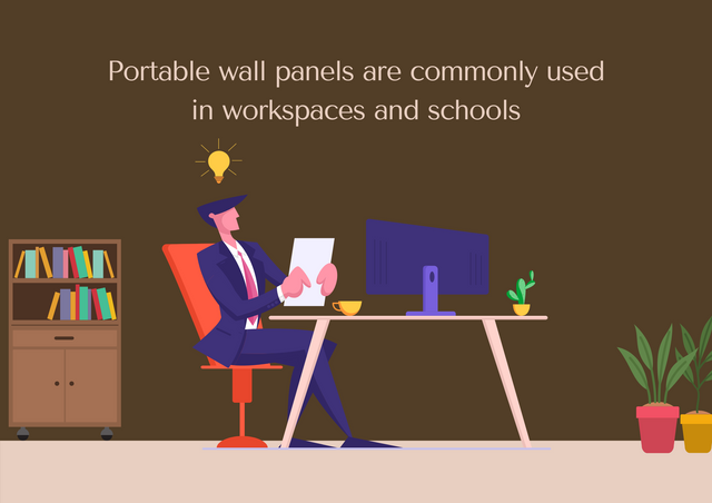 Portable-wall-panels-are-commonly-used-in-workspaces-and-schools